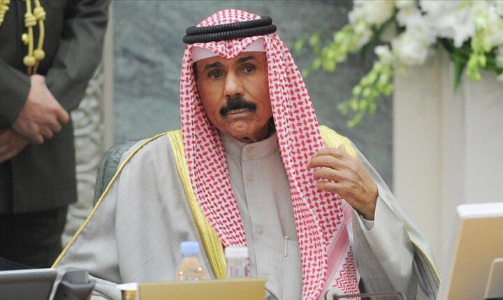 أمير الكويت يبعث رسالة للسيسي حول المصالحة الخليجية