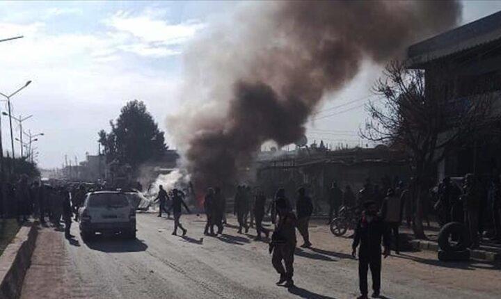 """تركيا: كاميرات تكشف متورطي تفجير """"رأس العين"""" السورية"""