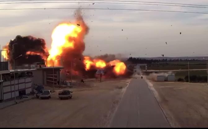 مقتل مدني وإصابة 4 بانفجار شمالي سوريا