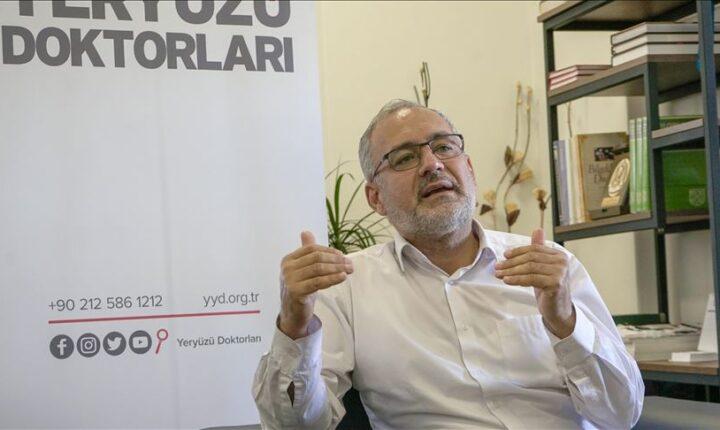 مد يد العون | جمعية أطباء حول الأرض التركية تمد يد العون لمحتاجين حول العالم