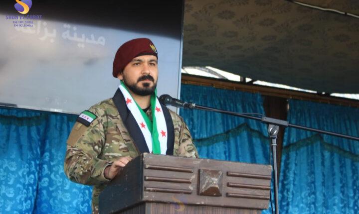 فعالية إحياء الذكرى العاشرة للثورة السورية، في مدينة بزاعة شمال حلب (صور)