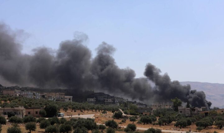 قوات النظام تقصف ريفي إدلب وحماة