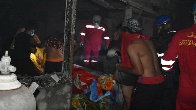 مفوضية حقوق الإنسان بالعراق: مقتل 130 شخصًا بحريق مستشفى بغداد