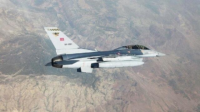 """تحييد 9 إرهابيين من """"بي كا كا"""" في غارة تركية شمالي العراق"""