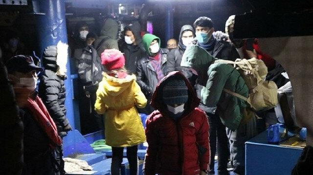 تركيا: ضبط 109 مهاجرين غير نظاميين خلال توجههم لإيطاليا