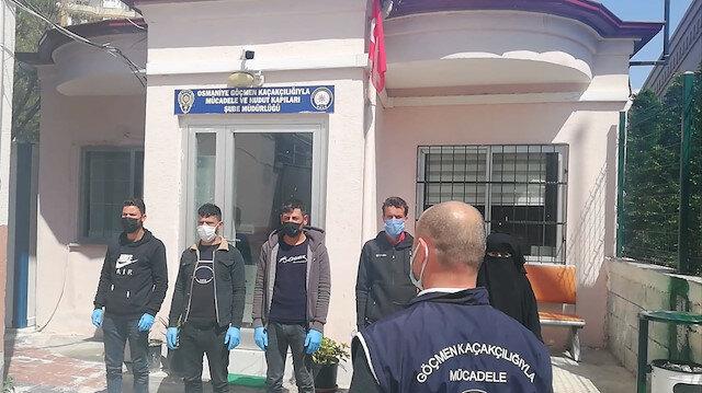 ضبط 5 سوريين دخلوا تركيا بصورة غير نظامية