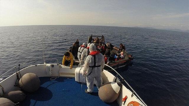 خفر السواحل التركي ينقذ 59 طالب لجوء أعادتهم اليونان