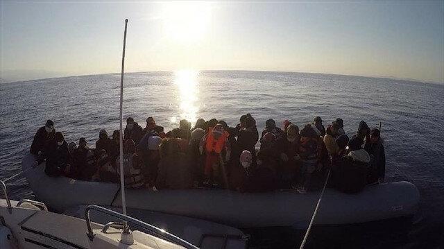 السلطات التركية تنقذ 54 طالب لجوء تعطل قاربهم