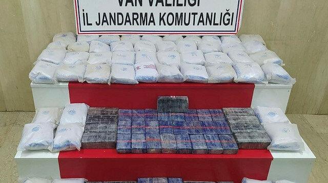 تركيا تضبط 83 كغ من المخدرات قادمة من إيران