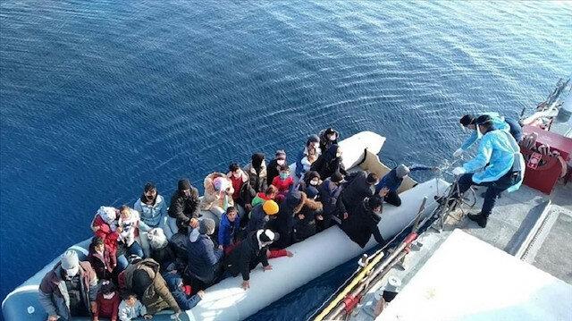 تركيا تنقذ 42 طالب لجوء تعرضوا لعنف القوات اليونانية