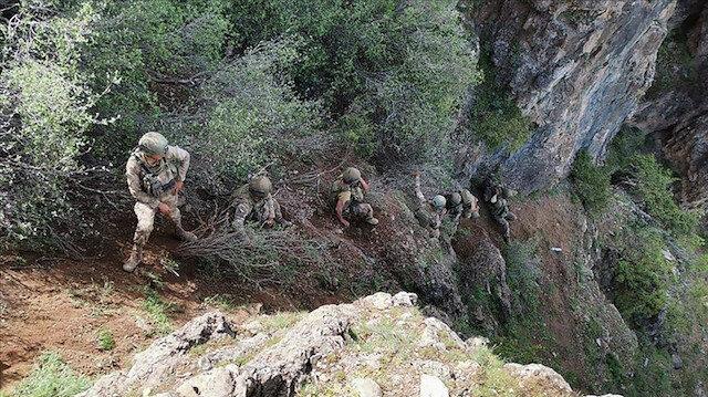 """تحييد إرهابيين اثنين من """"بي كا كا"""" شمالي العراق"""