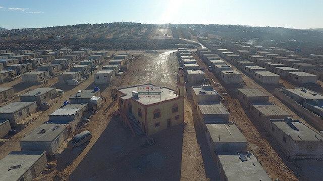 منظمات تركية تشيد 384 وحدة سكنية في إدلب السورية