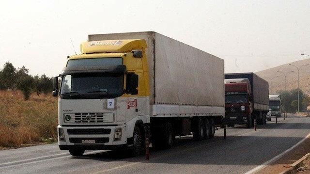 93 شاحنة مساعدات أممية إلى إدلب