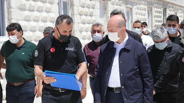 وزير الداخلية التركي: اكتمال إنشاء 35 ألف منزل للسوريين بإدلب