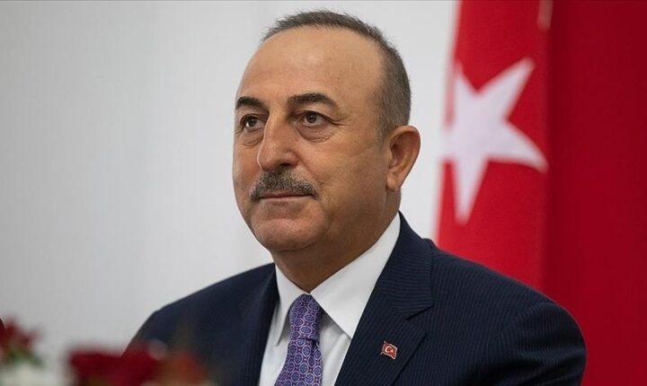 تشاووش أوغلو: ستظل تركيا دائما صوت الشعب الفلسطيني