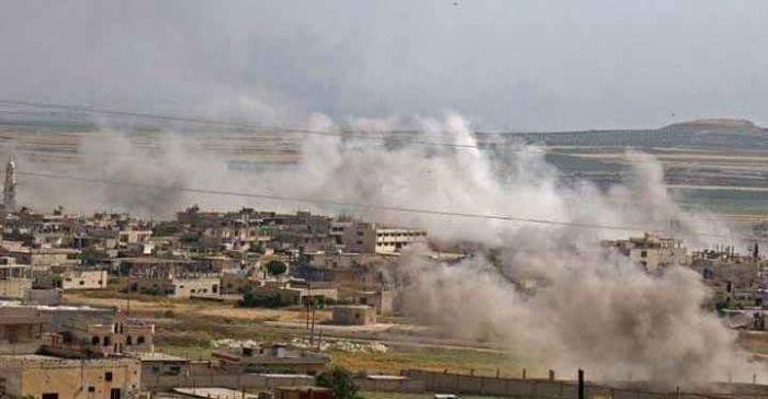 جرحى مدنيين بقصف مدفعي لقوات النظام على ريف إدلب