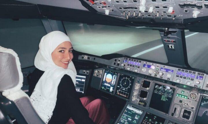 مايا غزال: أول سيدة سورية تقود طائرة