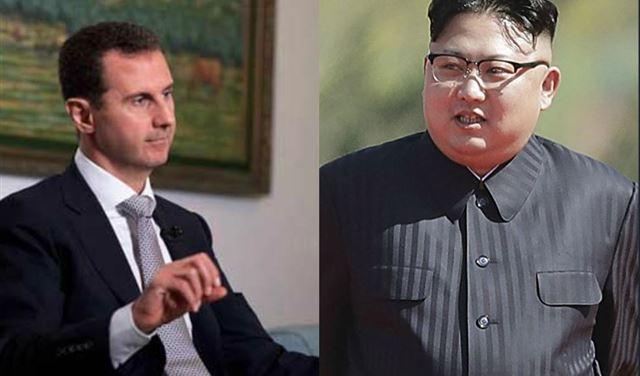 الأسد وكيم جونغ أون.. سر الرسائل المتبادلة