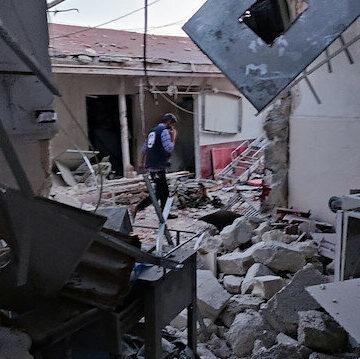"""الدفاع التركية: استهداف مواقع """"ي ب ك"""" الإرهابي عقب """"هجوم عفرين"""""""