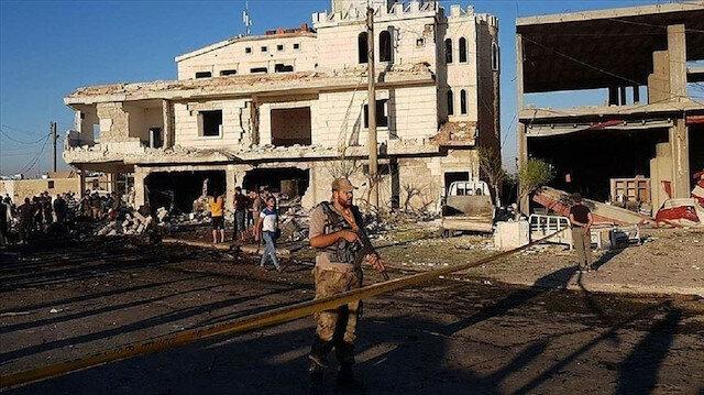 """منبج السورية.. مقتل مدني في إطلاق """"ي ب ك"""" النار على متظاهرين"""