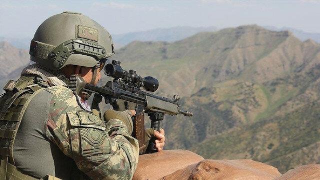 """الدفاع التركية: تحييد 2 من إرهابيي """"ي ب ك"""" شمالي سوريا"""