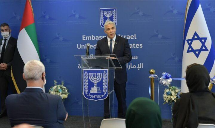 وزير الخارجية الإسرائيلي يفتتح سفارة بلاده في أبو ظبي