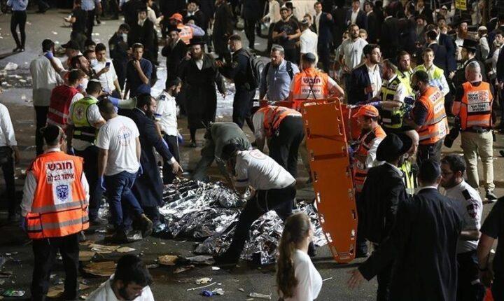 إسرائيل.. تشكيل لجنة تحقيق في انهيار منصة احتفال ديني