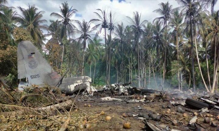 الفلبين.. ارتفاع قتلى تحطم الطائرة العسكرية إلى 45
