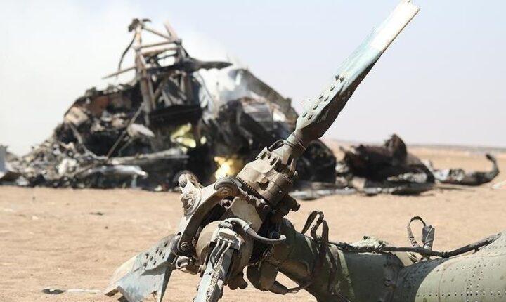 مصرع 5 عسكريين بتحطم مروحية شمالي العراق