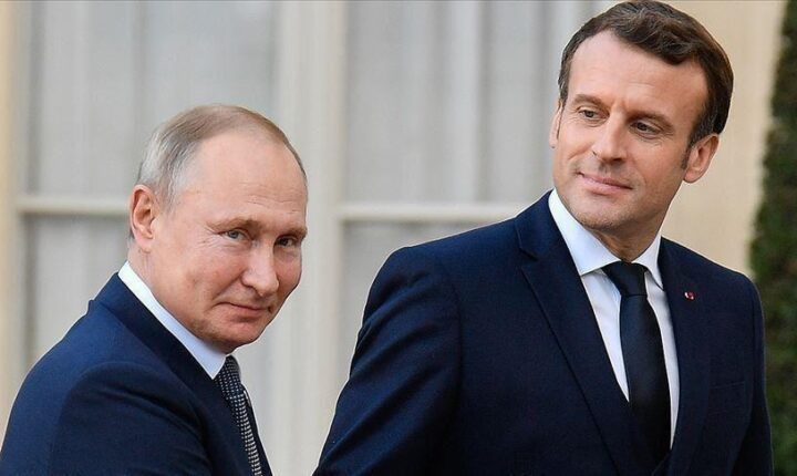 بوتين وماكرون يبحثان أمن واستقرار أوروبا