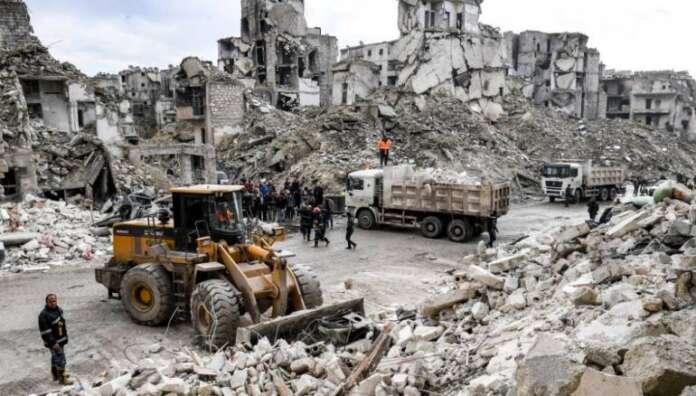 12 ألف شهيد مدني منذ التدخل الروسي في سورية
