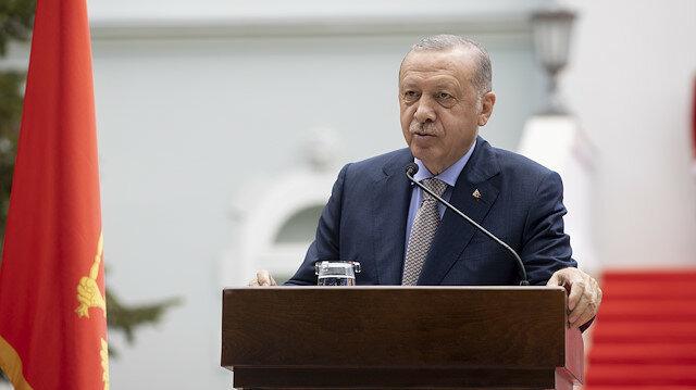 أردوغان يشيد بمساهمات تركيا والجبل الأسود لإحلال السلام