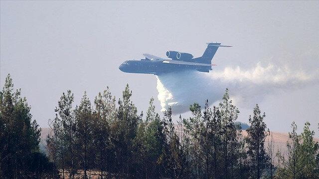 سقوط طائرة إطفاء أثناء إخماد حريق بمرعش