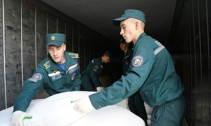 بيلاروسيا تعلن عن إرسال دفعة مساعدات جديدة للنظام
