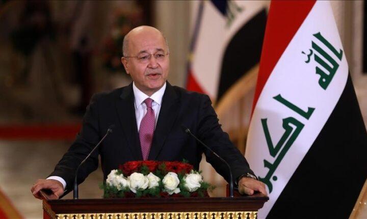 الرئيس العراقي: الانتخابات البرلمانية تمهد لمراجعة منظومة الحكم