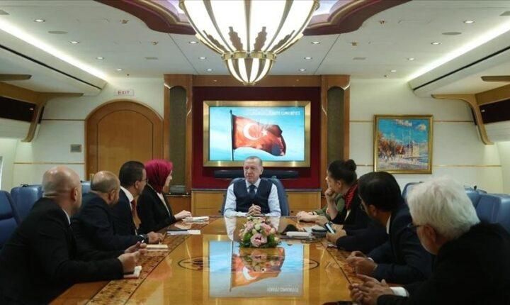 أردوغان: مستاؤون من تواصل ماكغورك مع الإرهابيين في سوريا