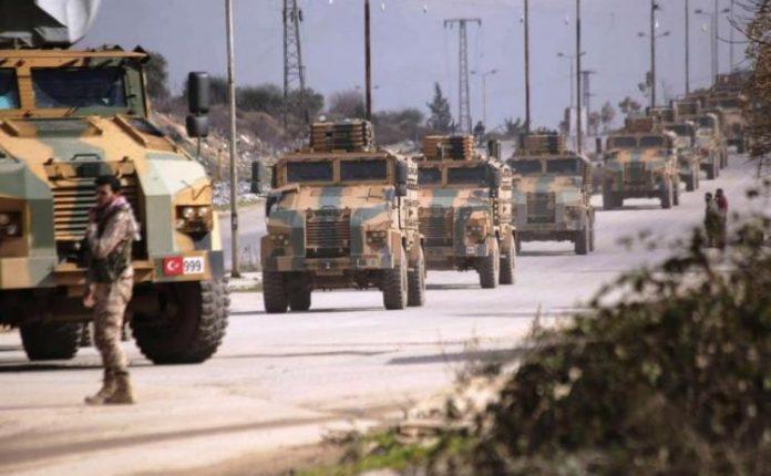 تزامناً مع التصعيد العسكري.. تعزيزات تركية تصل إلى إدلب